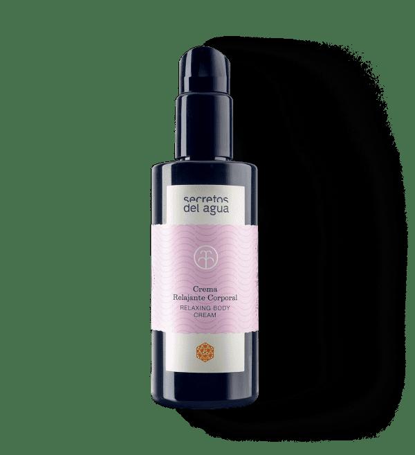 Crema relajante muscular natural de Secretos del Agua
