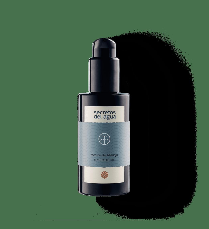 Aceite corporal para masaje natural de Secretos del Agua