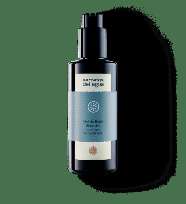Gel de ducha natural para pieles sensibles de Secretos del Agua