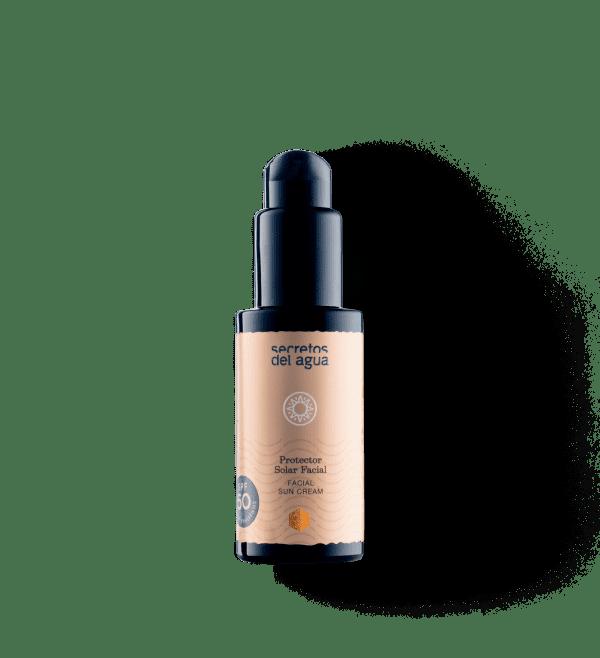 Crema Solar Facial Natural de Secretos del Agua