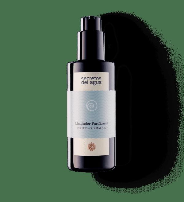 Champú purificante clarificante natural de Secretos del Agua para cabellos grasos sin siliconas ni sulfatos