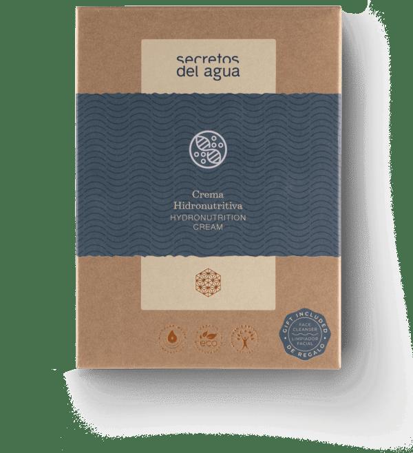 Crema facial hidratante de Secretos del Agua