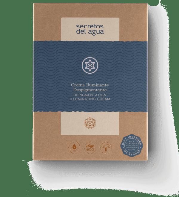 Crema despigmentante de Secretos del Agua