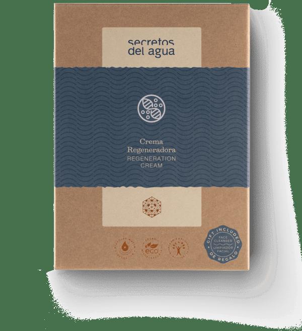 Crema regeneradora para la cara de Secretos del Agua