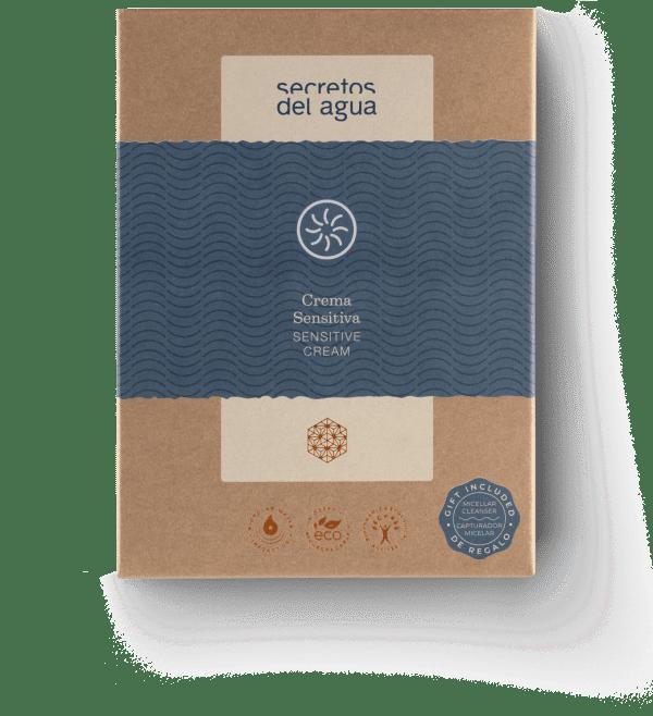 Crema para piel sensible natural de Secretos del Agua