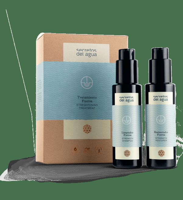 Tratamiento para fortalecer el cabello de Secretos del Agua