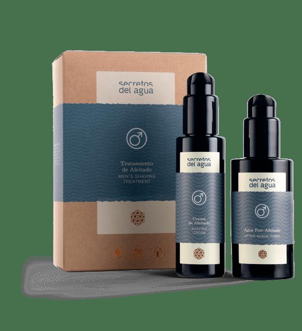 Productos para el afeitado de secretos del agua