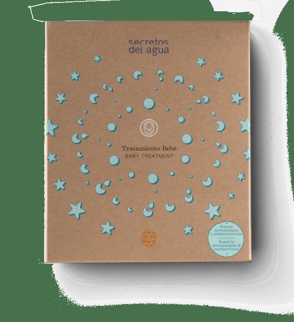 Set de baño para bebes natural de Secretos del Agua