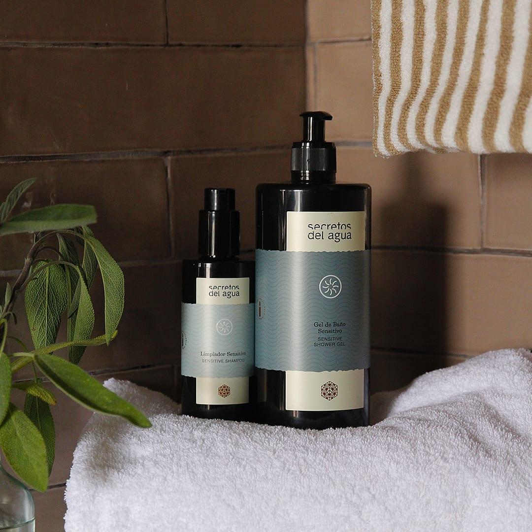 Gel de baño natural para hidratar la piel